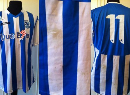 Shirt Match Worn Martina 2014-2015