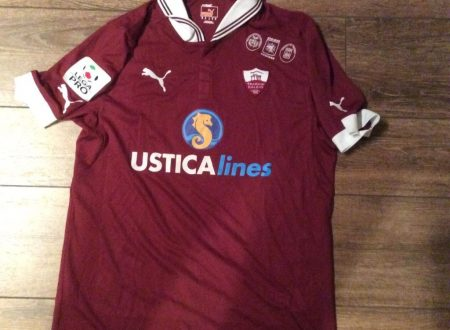 Shirt Match Worn TRAPANI 2012-2013