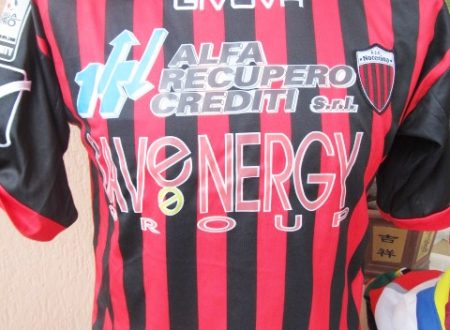 Shirt Match Worn NOCERINA 2013-2014