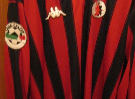 Shirt Match Worn FOGGIA 1997-1998
