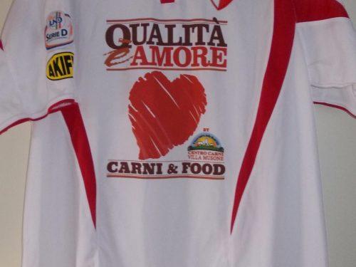 Shirt Match Worn ANCONA 2011-2012