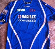 Shirt Match Worn PAVIA 2011-2012