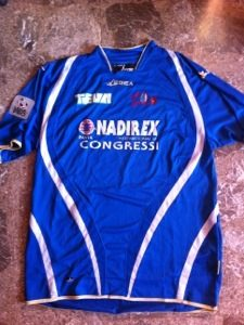 Shirt Match Worn PAVIA 2011-2012