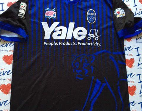 Shirt Match Worn RENATE 2014-2015