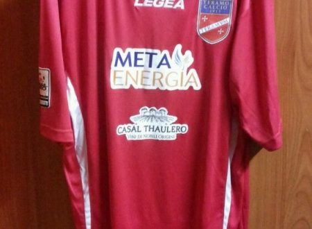 Shirt match Worn TERAMO 2014-2015