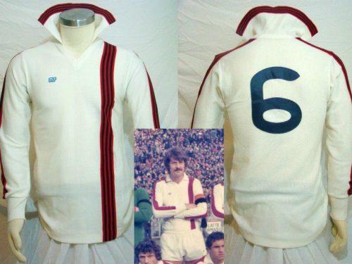 Shirt Match Worn TARANTO 1978-1979
