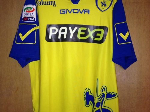 Shirt Match Worn CHIEVO 2015-2016