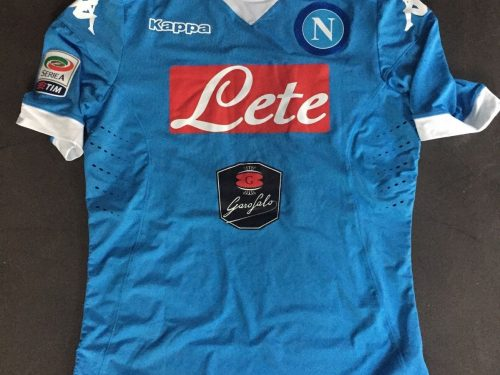 Shirt match worn NAPOLI 2015-2016