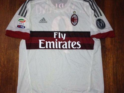 Shirt Match Worn MILAN 2015-2016