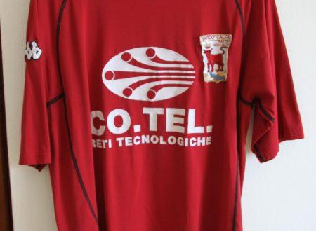 Shirt Match Worn NARDO' 2001-2002
