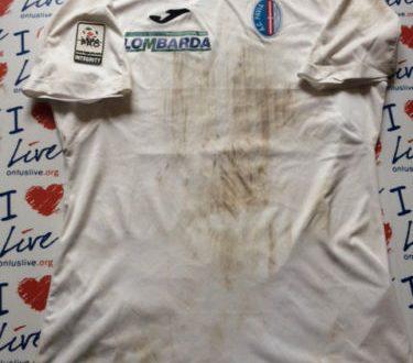 Shirt match Worn PAVIA 2015-2016