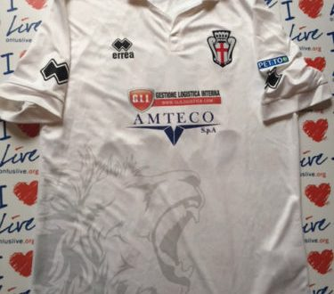Shirt Match Worn PRO VERCELLI 2015-2016