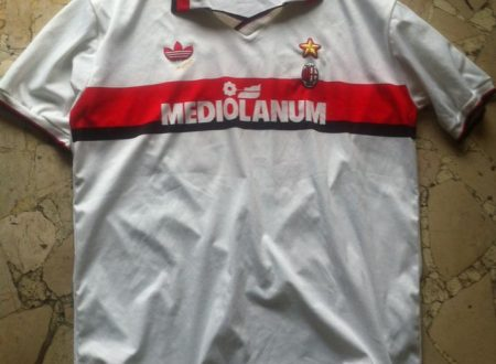 Shirt Match Worn MILAN 1991-1992