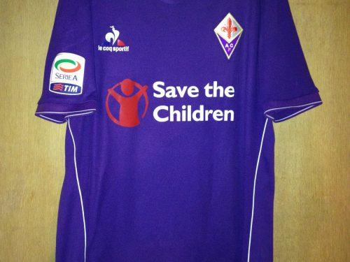 Shirt match Worn FIORENTINA 2015-2016