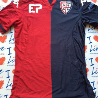Shirt Match Worn CAGLIARI 2015-2016