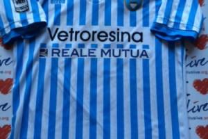 Shirt Match Worn SPAL 2015-2016