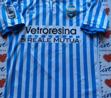 Shirt Match Worn SPAL 2015-2016