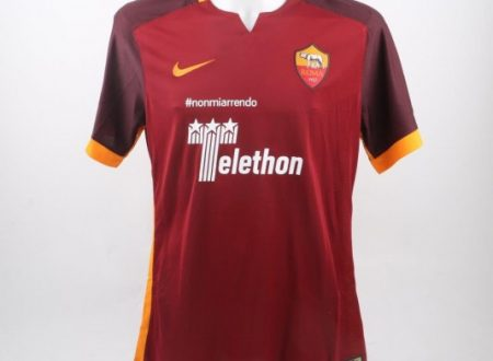 Shirt Match Worn ROMA 2015-2016
