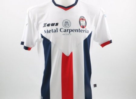 Shirt Match Worn CROTONE 2015-2016