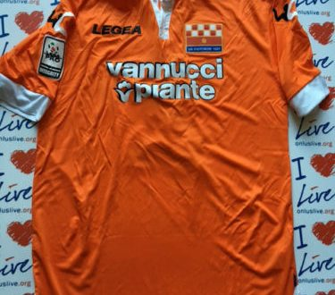 Shirt Match Worn PISTOIESE 2015-2016