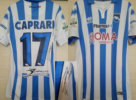 Shirt Match Worn PESCARA 2015-2016