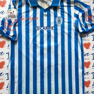 Shirt Match Worn SPAL 2011-2012