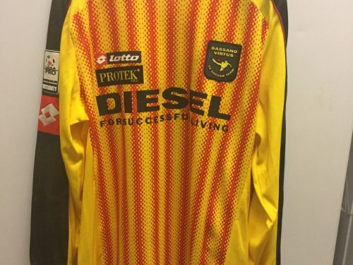 Shirt Match Worn BASSANO 2015-2016