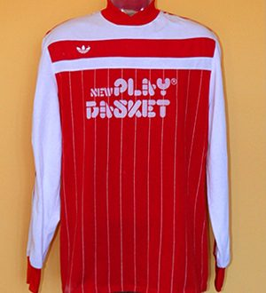 Shirt Match Worn BARLETTA 1986-1987
