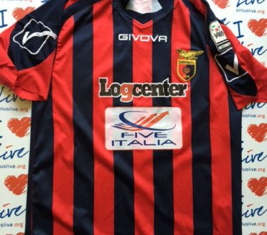 Shirt Match Worn CASERTANA 2015-2016