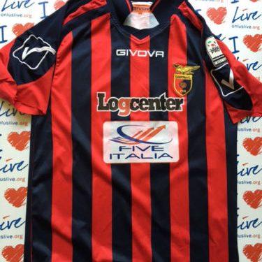 Shirt Match Worn CASERTANA 2015-2016