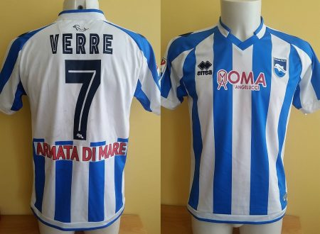 Shirt Match Worn PESCARA 2016-2017