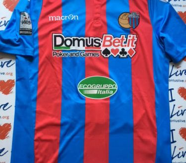 Shirt Match Worn CATANIA 2016-2017