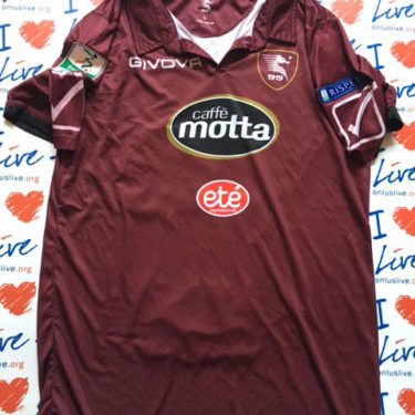 Shirt Match Worn SALERNITANA 2016-2017