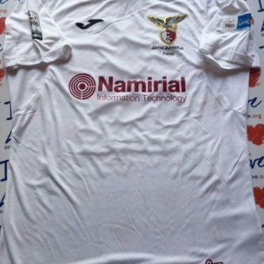 Shirt Match Worn FANO 20216-2017