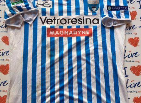 Shirt Match Worn SPAL 2016-2017
