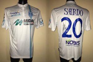 Shirt Match Worn CHIEVO 2016-2017