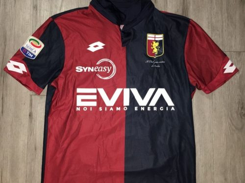 Shirt Match Worn GENOA 2016-2017