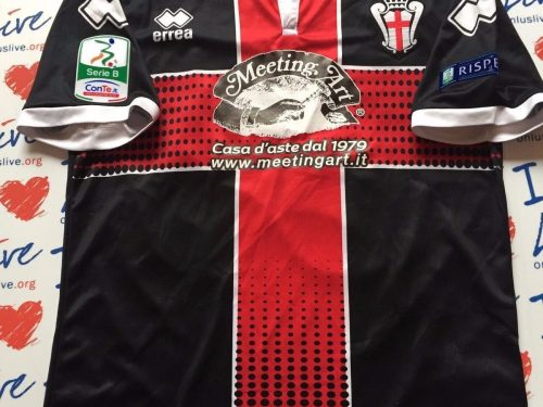 Shirt Match Worn PRO VERCELLI 2016-2017