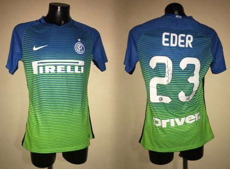 Shirt Match Worn INTER 2016-2017
