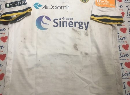 Shirt Match Worn HELLAS VERONA 2018-2019