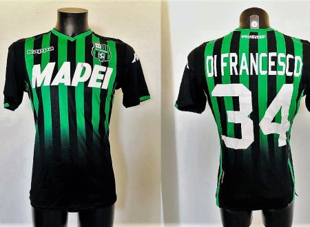 Shirt Match Worn SASSUOLO 2018-2019