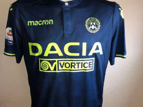 Shirt Match Worn UDINESE 2018-2019