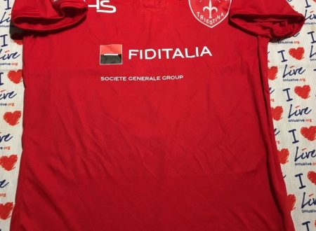 Shirt Match Worn Triestina 2018-2019