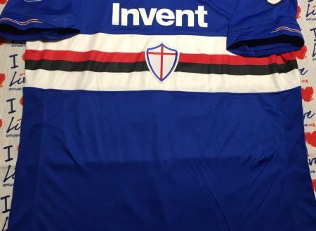 Shirt Match Worn SAMPDORIA 2018-2019