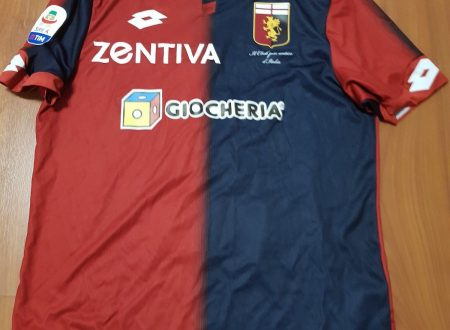 Shirt Match Worn GENOA 2018-2019
