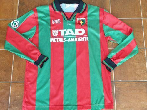 Shirt Match Worn Ternana 1998-1999